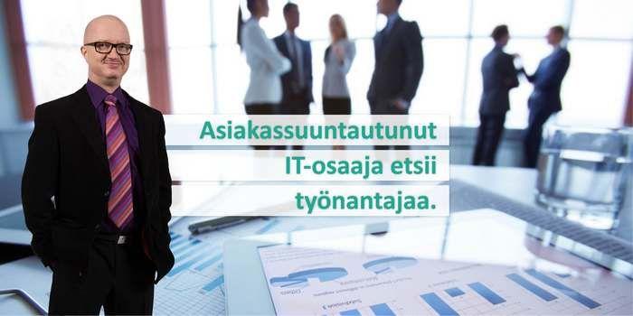 Erinomaisen näköinen ja erilainen työnhaku -kampanja käynnissä Marko Hietalalla. Kannattaa tutustua!