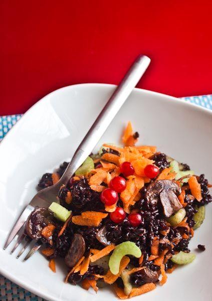 Forbidden rice salad   Healthy Yummy Salads   Pinterest