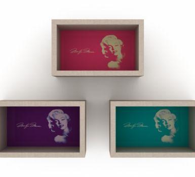 Set biblioteca Marilyn Monroe