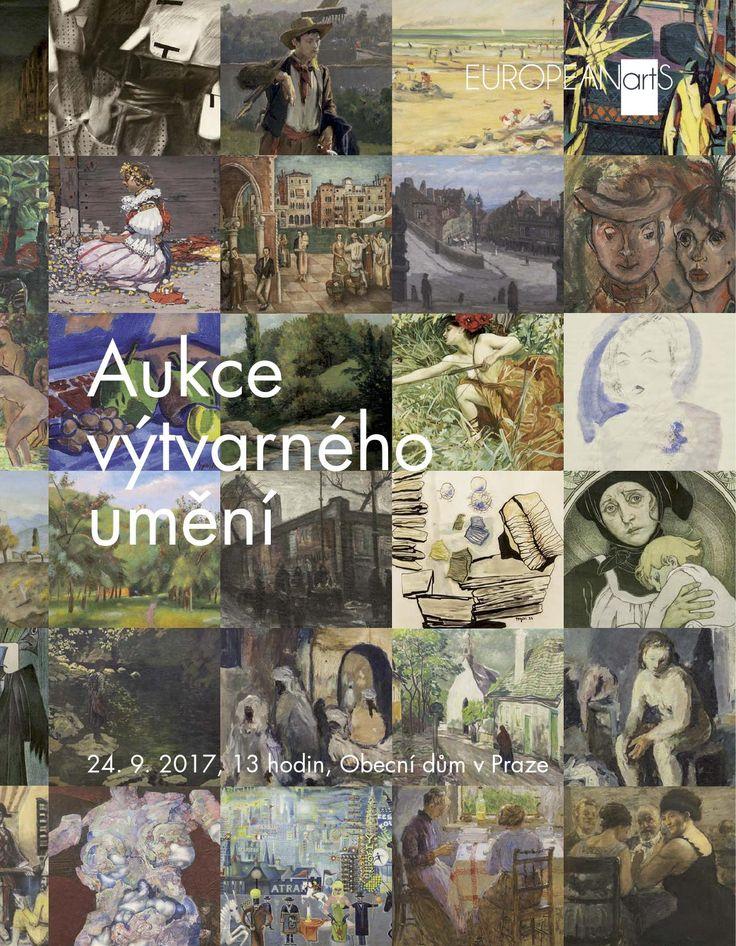 Aukční katalog k aukci září 2017 - více info na www.europeanarts.cz