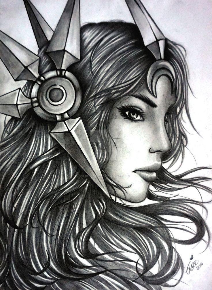 Leona - League Of Legends by Krystal89IT.deviantart.com on @DeviantArt