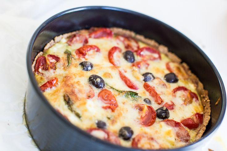 LCHF - Low Carb, Medelhavspaj vegetarisk glutenfri