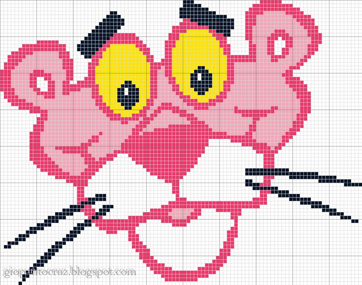 tha Pink Panther obsession continues and here's a pattern yes please