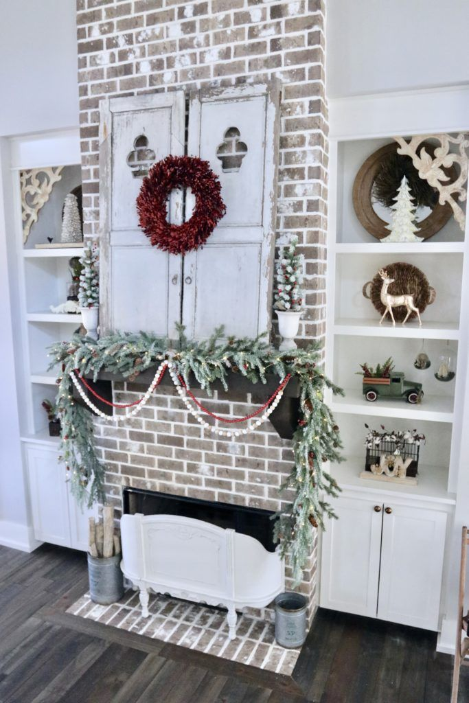 Christmas Home Tours 2019 Christmas Home Tour   crateandcottage.| Home Tours in 2019
