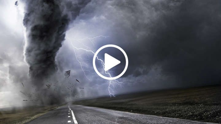 This amazing simulation was created with the University of Wisconsin-Madison to give scientists a better understanding of how tornadoes are structured.