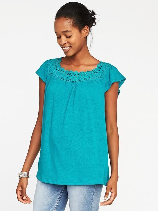 Old Navy Crochet-Trim Linen-Blend Swing Top for Women https://www.fanprint.com/stores/american-dad?ref=5750