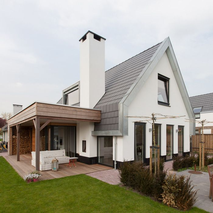 Imagesfull lindenhof rotterdam architect bilthoven knaap 700 700 magnolia - Huis met veranda binnenkomst ...