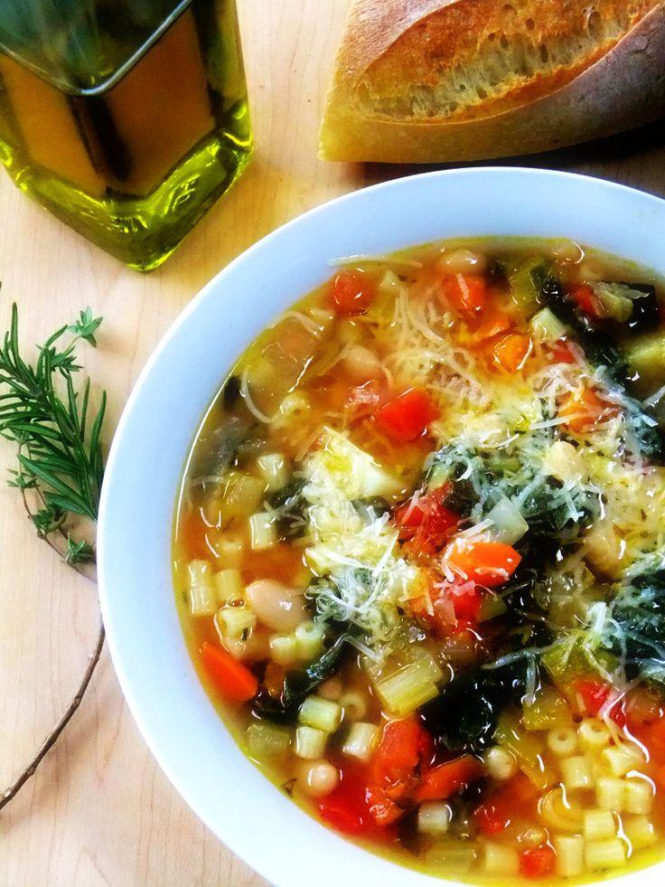 Proud Italian Cook - Pasta Fagioli Soup
