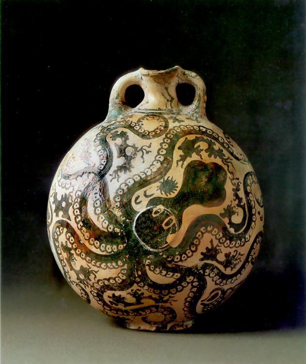 Octopus Vase (Marine Style), c. 1500 B.C.
