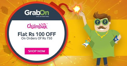 #Diwali Offers Are Not Over Yet - @Chumbak Offers Rs 100 OFF. http://www.grabon.in/diwali-offers/ #BachatWaliDiwali