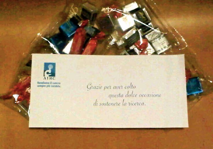 madai sostiene AIRC e degusta i Cioccolatini Lindt!