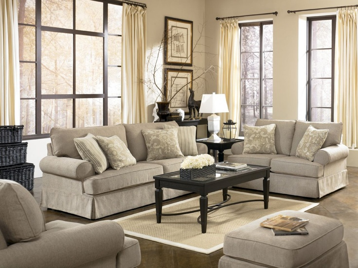 Home Gallery Furniture For Ashley Candlewick, Candlewick Linen Sofa Part 73