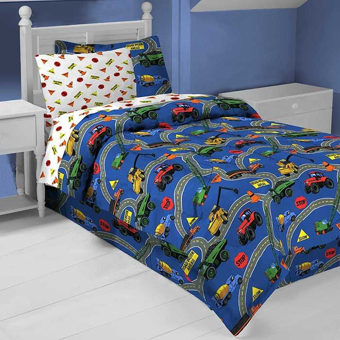 Truck Twin Bed Set