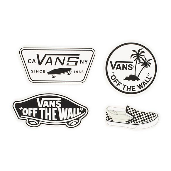 sticker vans off the wall