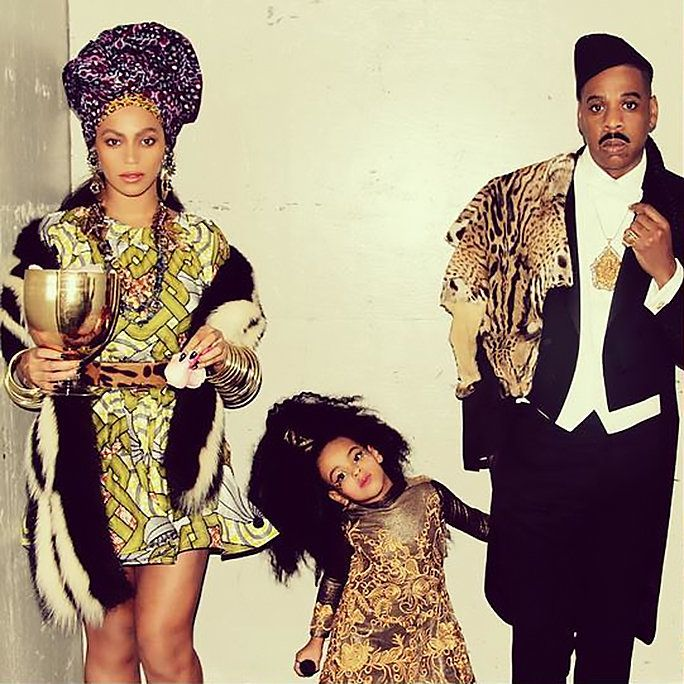 Beyonce, Jay Z, and their daughter Blue Ivy won Halloween in Coming to America-themed looks.