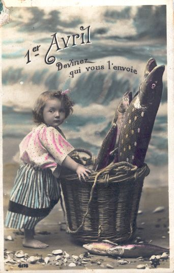17 best images about postcards poisson d 39 avril on pinterest vintage french and april fools day. Black Bedroom Furniture Sets. Home Design Ideas