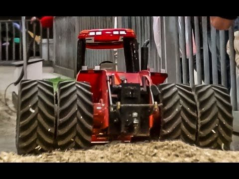 RC tractor ACTION in 1:16 scale, spotted at the Miniaturenbeurs, Zwolle - YouTube