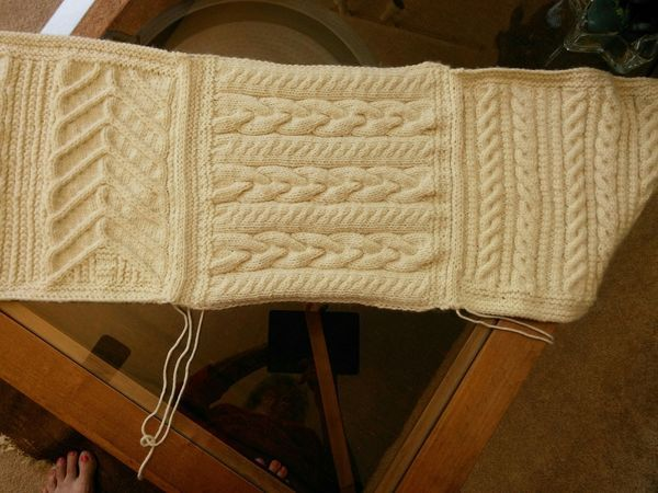 Joining blanket squares