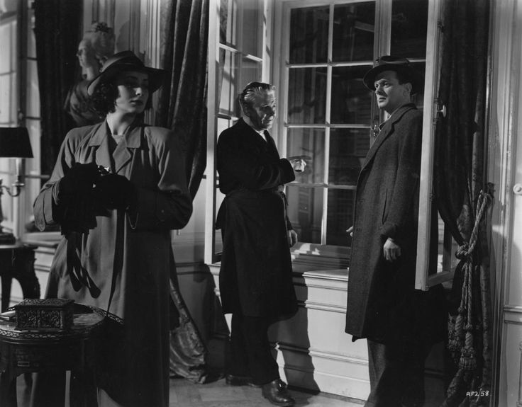 Alida Valli, Paul Hörbiger and Joseph Cotten  El terer hombre 1949 (The Third Man) Directed by Carol Reed