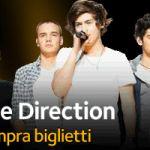 One Direction acquista i biglietti per il concerto del 28 giugno 2014 a San Siro Milano