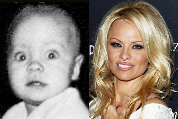 Pamela Anderson, Baby Photo - Snakkle | STARS THEN and NOW ...
