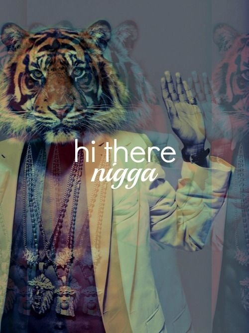Hipster tiger face - photo#15