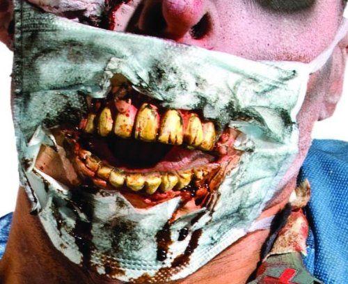 Zombie Doctor Mask with Teeth « iZOMBIE5