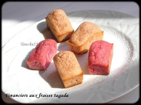 financiers aux fraises tagada brunch tapas et go251ter
