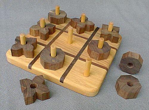 Fun way to play tic tac toe!