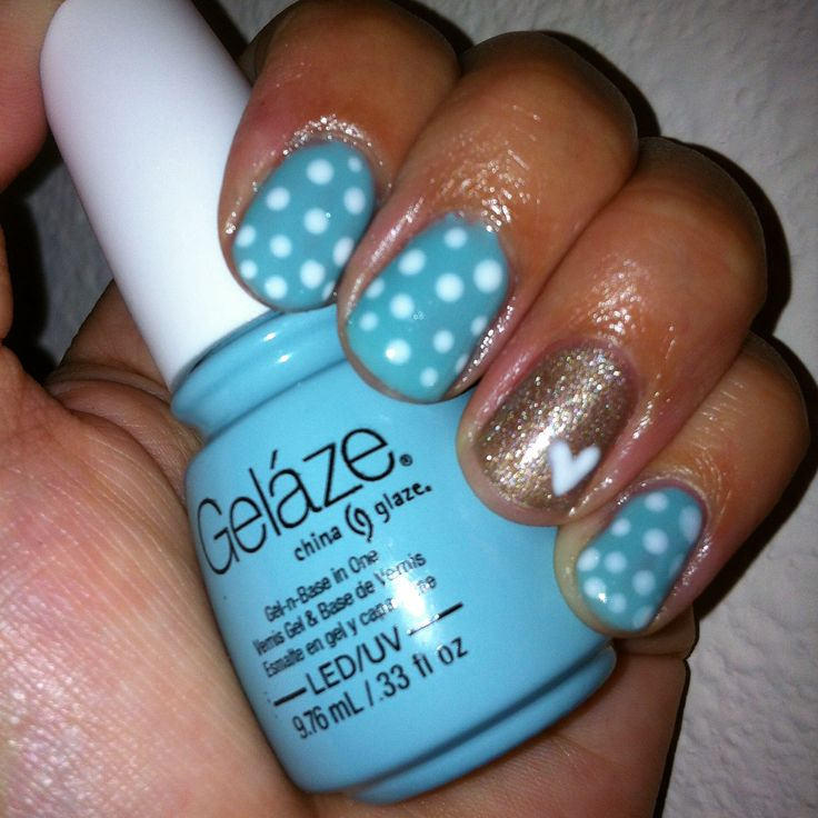 Gelaze Nail Designs Swing Baby