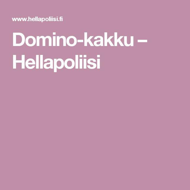 Domino-kakku – Hellapoliisi