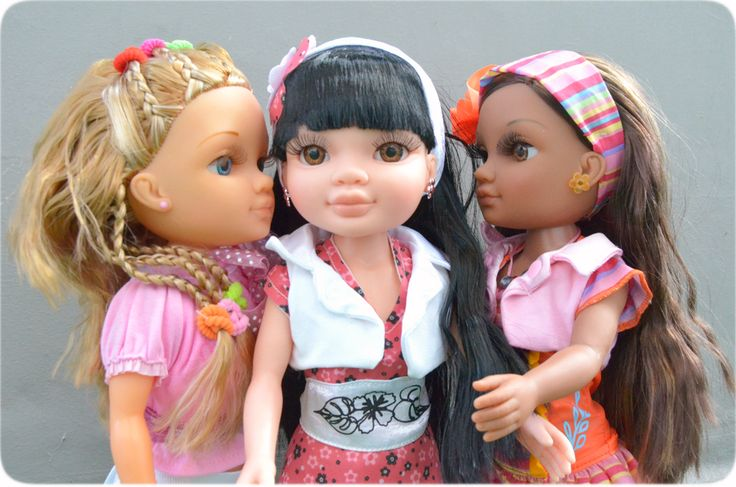 #Nancy and her friends Anabella and Susi-ly! #secrets #dolls #muñecas #juguetes