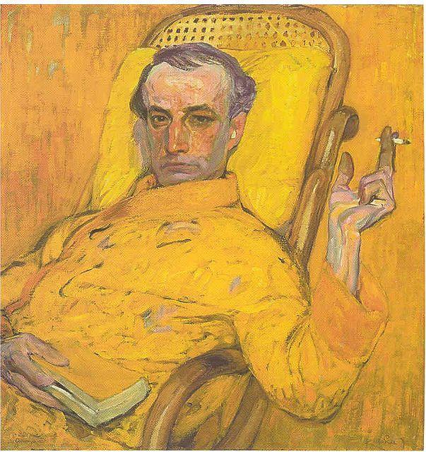 Frantisek Kupka, Self-Portrait, 1907 by kraftgenie, via Flickr