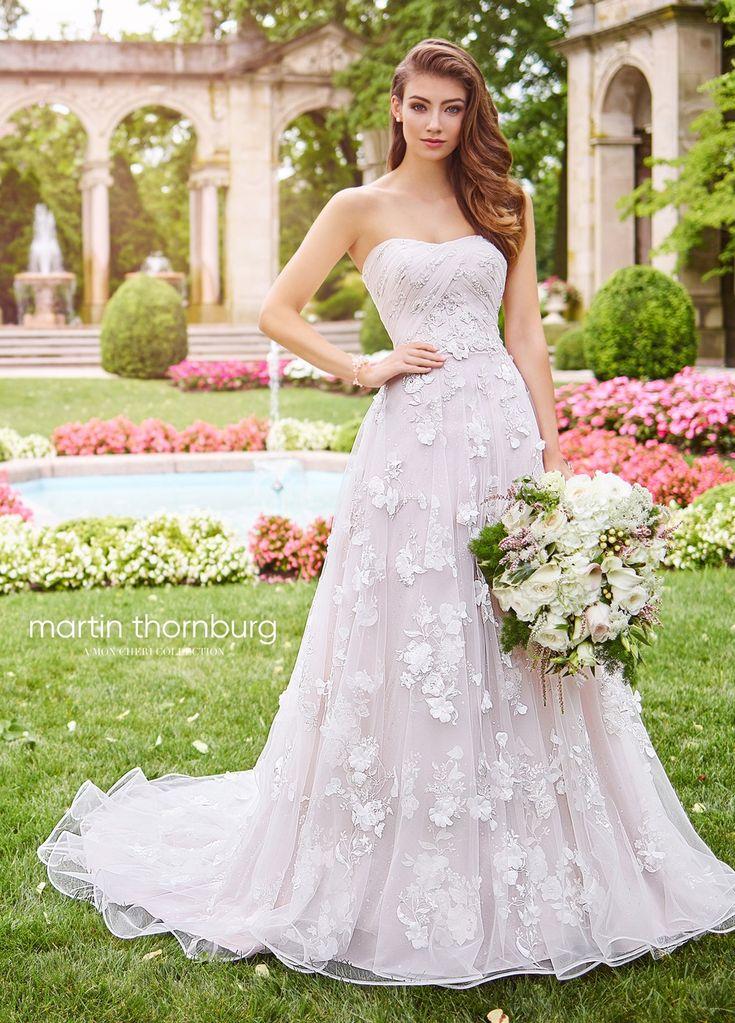 Martin Thornburg for Mon Cheri 118258 Harmony Strapless Bridal Dress   MadameBridal.com  #weddingdresses #wedding #bride #moncheri #moncheriwedding #martinthornburg