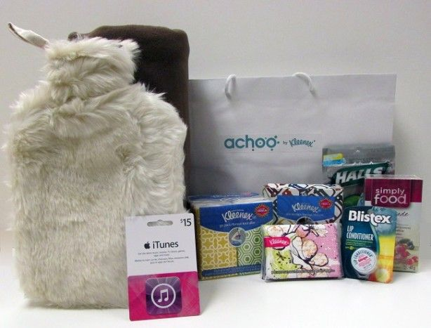 Get Prepared this Winter with the Achoo by Kleenex Cold and Flu Predictor-Giveaway