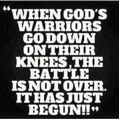 Always say a prayer before a battle.
