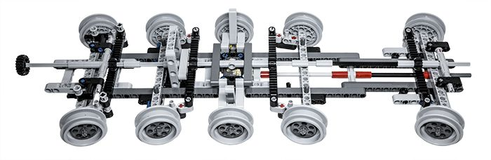 LEGO Technic Building Tip - Multiple Axle Steering - ICHIBAN Toys