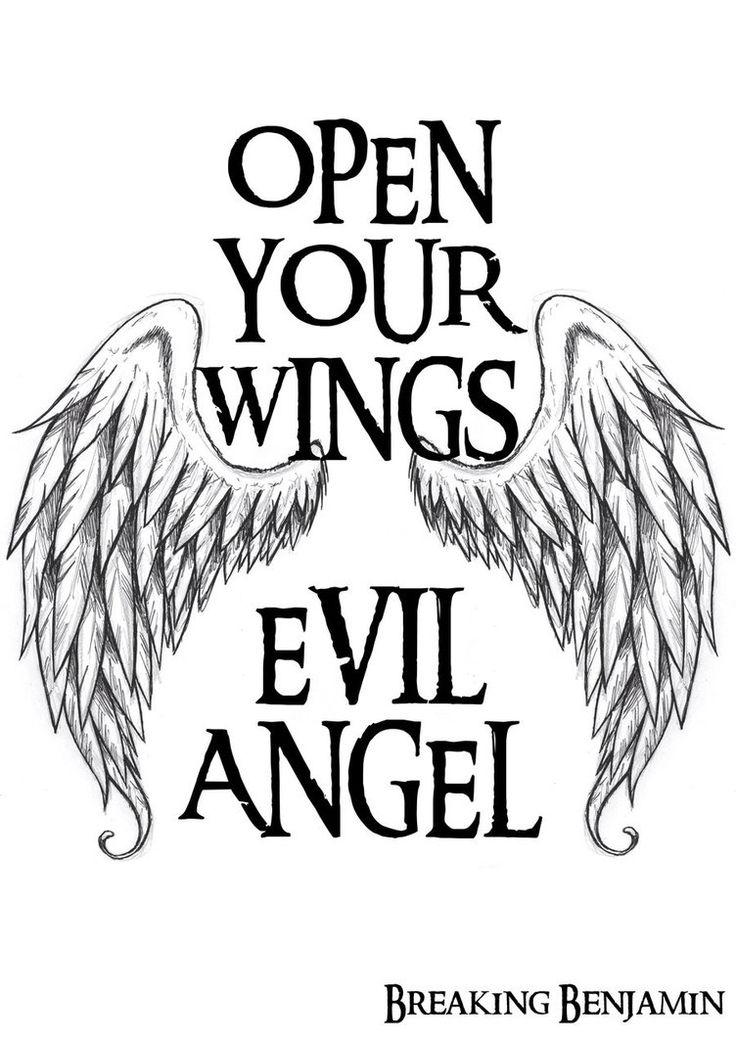 Evil Angel Breaking Benjamin by ScarletWarmness on DeviantArt