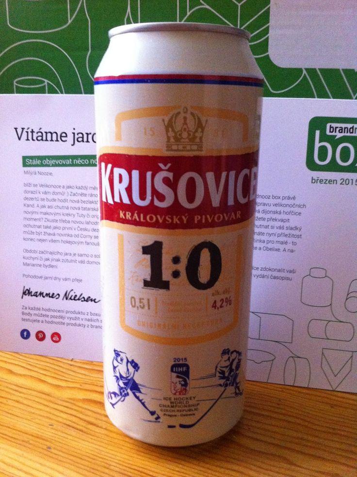 Krušovice desítka  v limitované edici věnované právě probíhajícímu hokejovému mistrovství světa - ideální doplněk s originálním designem pro každého pravého hokejového fanouška https://www.brandnooz.cz/products/Krusovice-desitka
