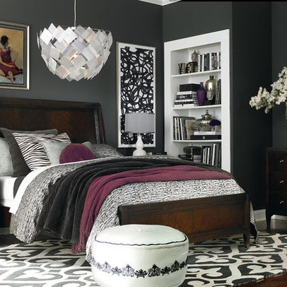 451 best images about color material trends on pinterest for Brown and purple bedroom ideas