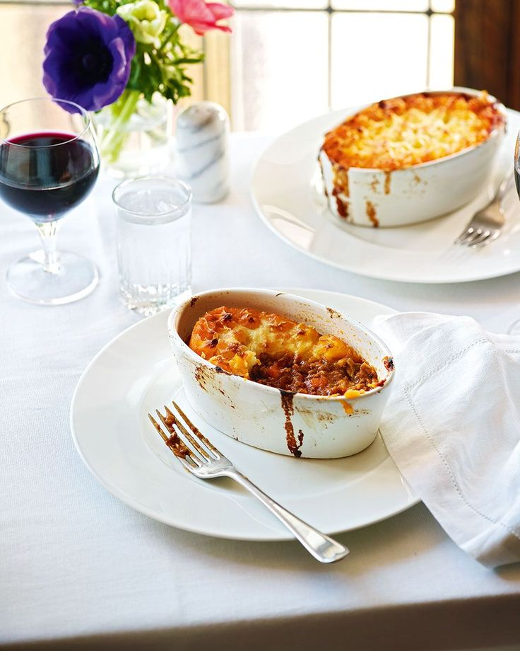 Chef Gary Lee uses a combination of lamb and beef mince to make The Ivy's infamous shepherd's pie, elevating it from a humble dish to a hybrid between two comfort foods - cottage and shepherd's pie.