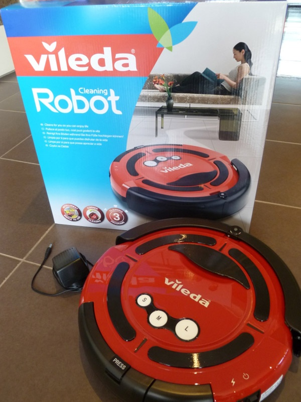 Vileda Cleaning Robot Review  With 2 hours spent vacuuming every week (on average) that's 104 hours vacuuming every year! Naturally the prospect of never having to vacuum or sweep again is very appealing to almost everyone.