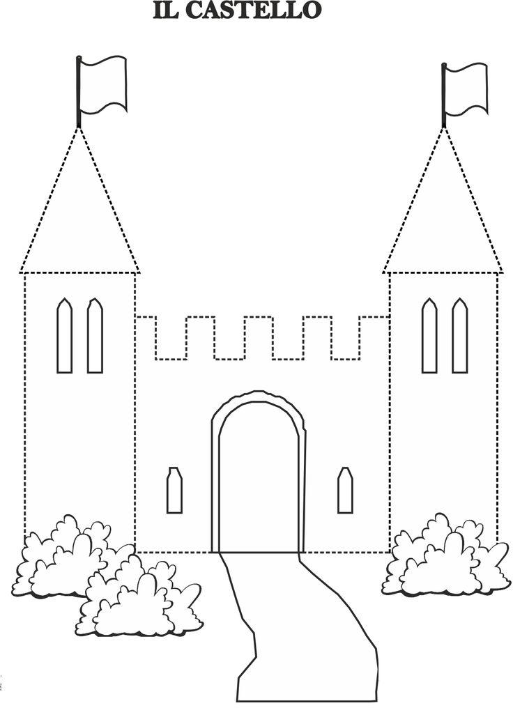 castle cut out template - 549 beste afbeeldingen over july august preschool summer