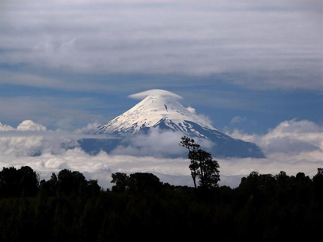 Osorno Volcano, Chilean Lake District.