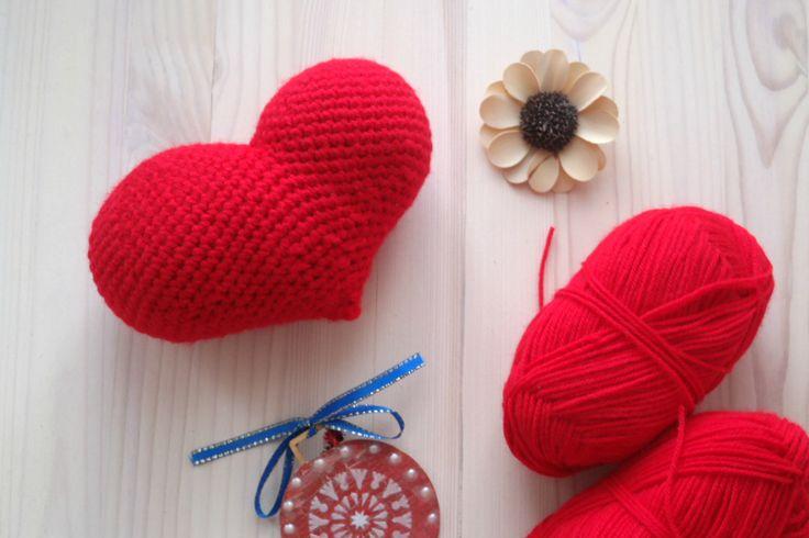 #crochetheart #вязаноесердце