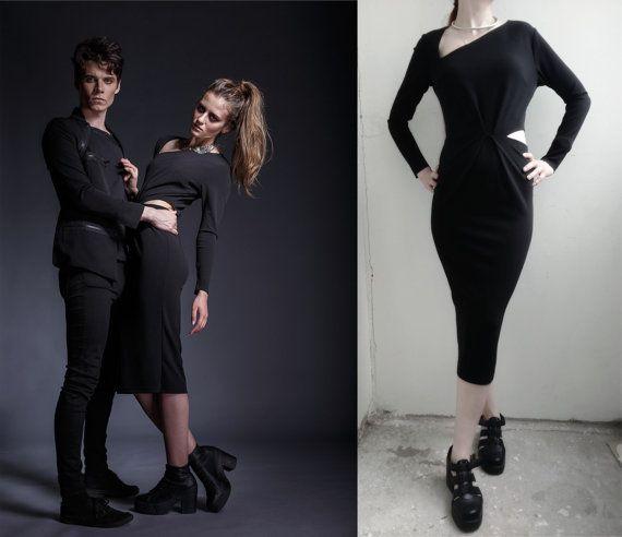 Glam punk style dresses
