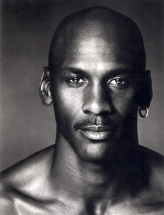 Michael Jordan, photo by Greg Gorman
