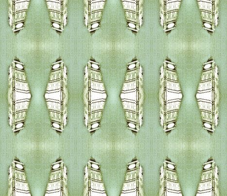 London Series Leaf fabric by natyceccato on Spoonflower - custom fabric