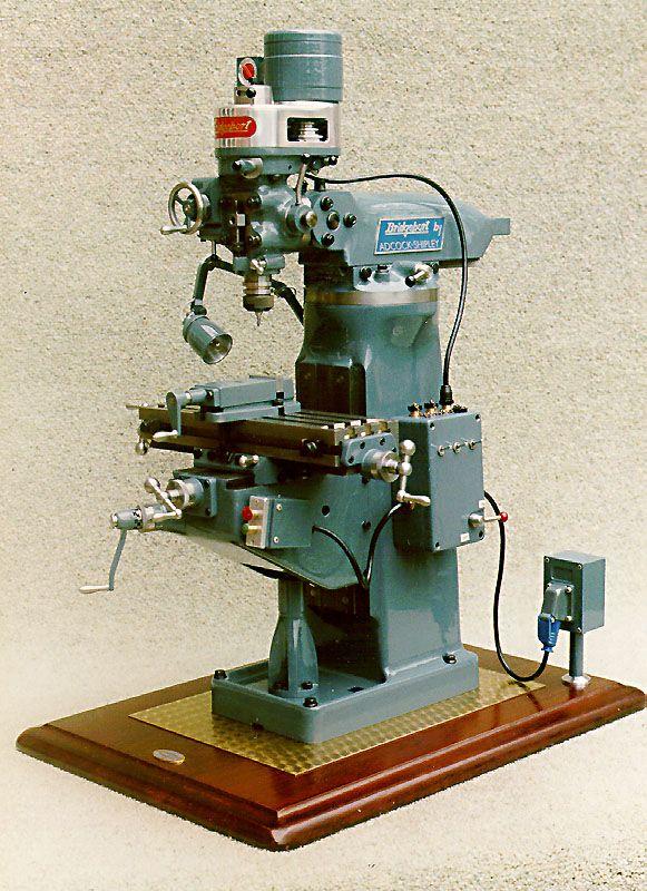 1 14 Scale Working Bridgeport Brj Milling Machine