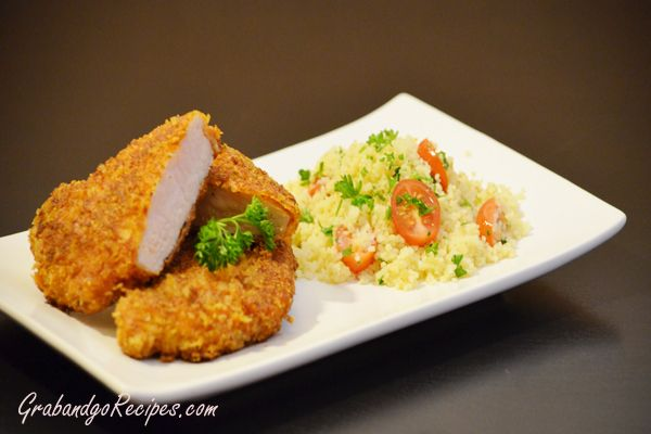 Parmesan Panko Pork Chops -- tried by Denise